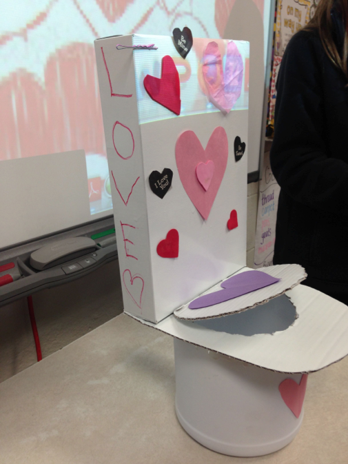 The Cardboard Valentine Box Challenge One Extra Degree