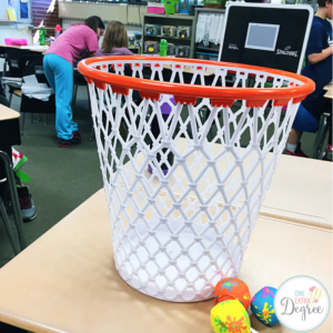 Multiple intelligences thinking tubs one extra degree - Garbage can basketball hoop ...