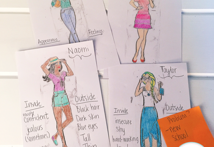 Writing with Fashion Plates 9