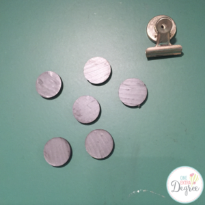 Use industrial magnets in the classroom! They are stronger than the cutesy ones, hands-down!