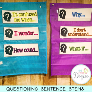 Questioning Sentence Stems