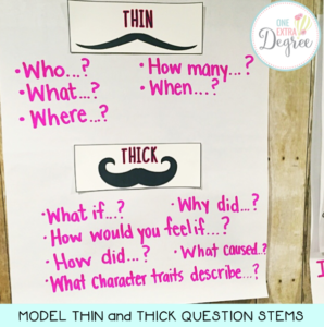 Thick and Thin Question Stems