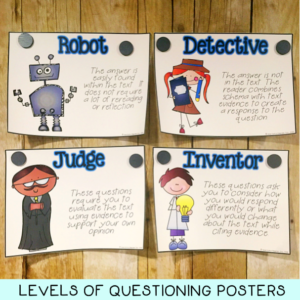 Levels of Questioning Posters