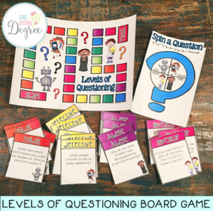 Levels of Questioning Game