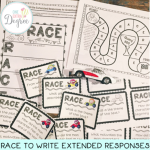 RACE to Write Extended Reponses to Questions