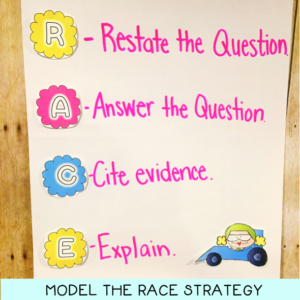 The RACE Strategy for Extended Responses