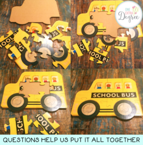 Questioning is a lot like putting together a puzzle!