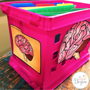Your Brain is a Filing Cabinet!