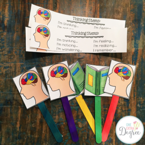 Metacognition Thinking Stems and Thinking Sticks