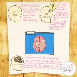 What I Know, New Learning, & Misconceptions Anchor Chart